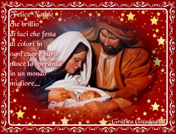 Auguri Di Un Santo Natale E Felice Anno Nuovo.Buon Natale E Felice Anno Nuovo